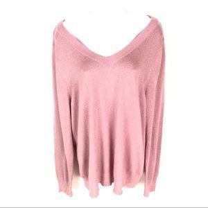 Lane Bryant Women's Pink Sweater 18/20